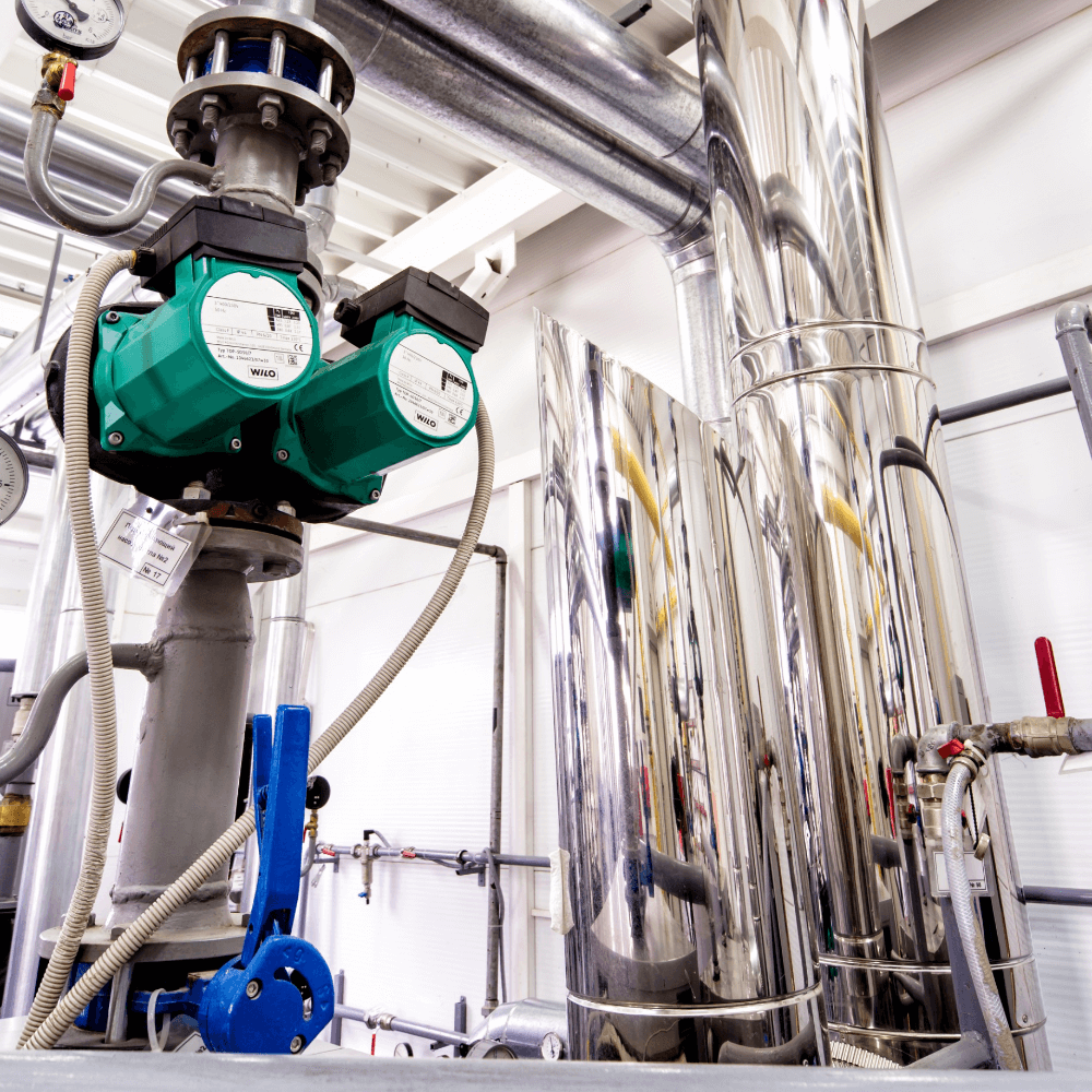 Фотография Система водостоков Geberit Pluvia для склада «Mary Kay»