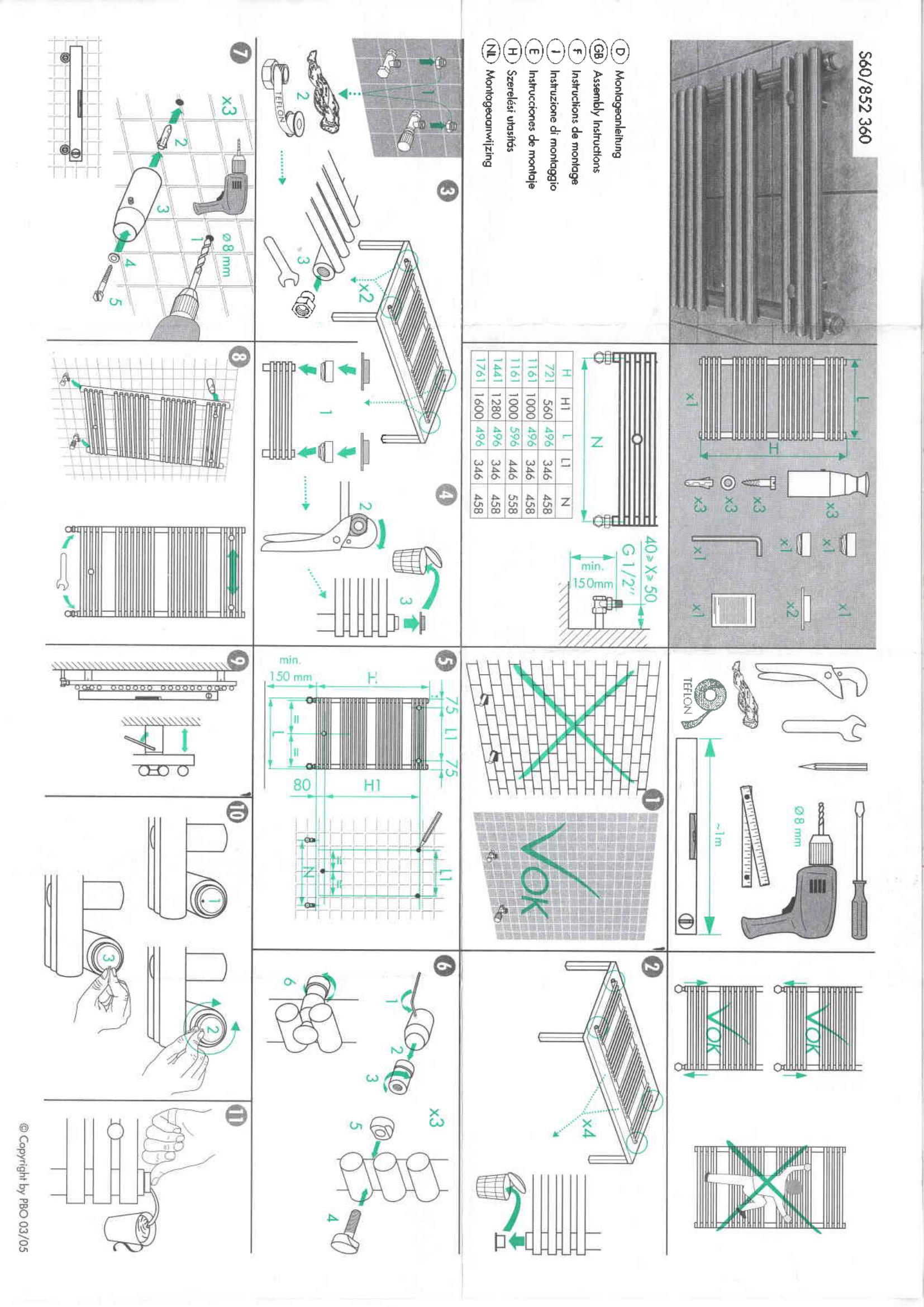 Фотография Инструкция по монтажу дизайнерского полотенцесушителя Zehnder Forma Inox