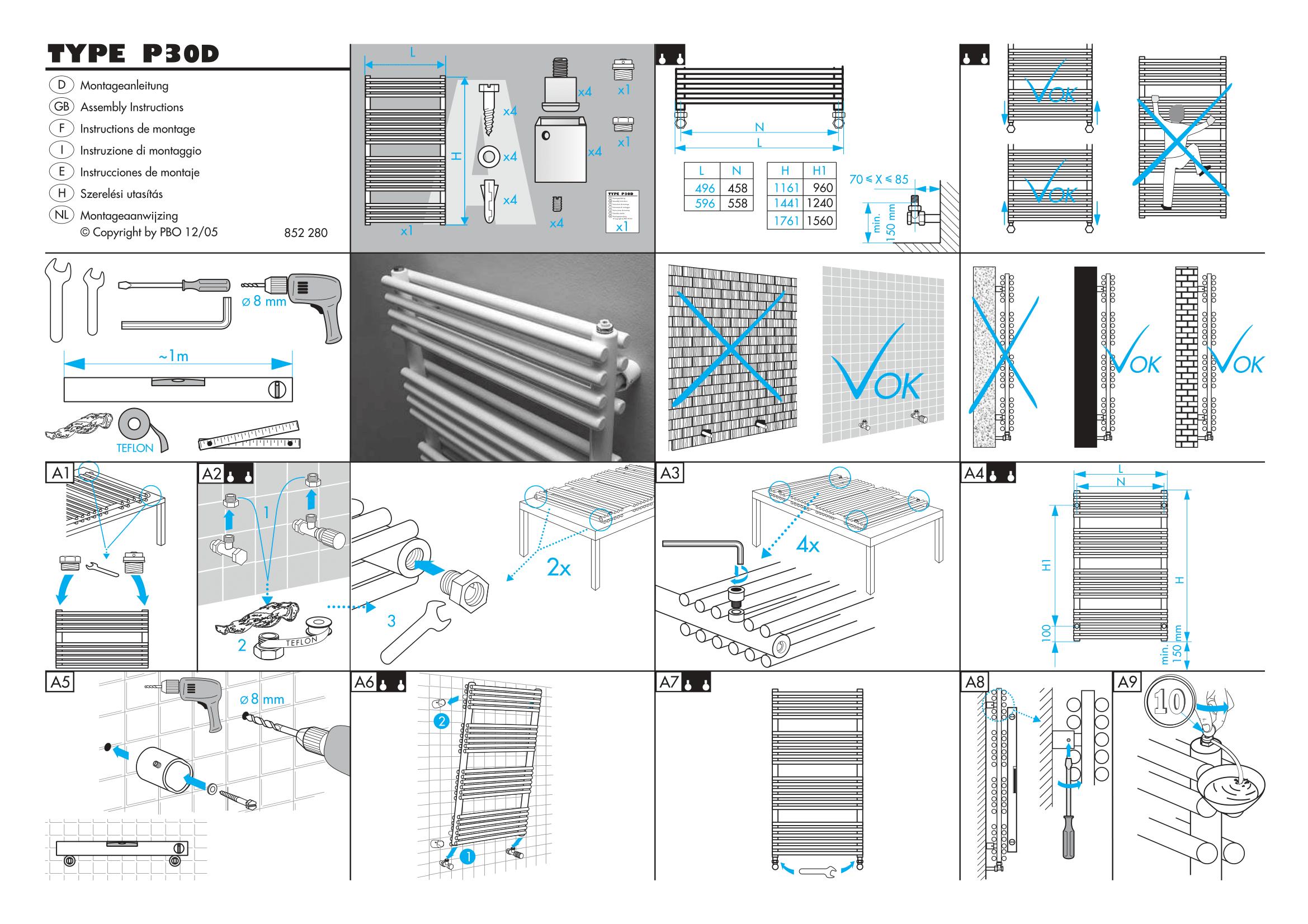 Фотография Инструкция по монтажу дизайнерского полотенцесушителя Zehnder Forma Spa