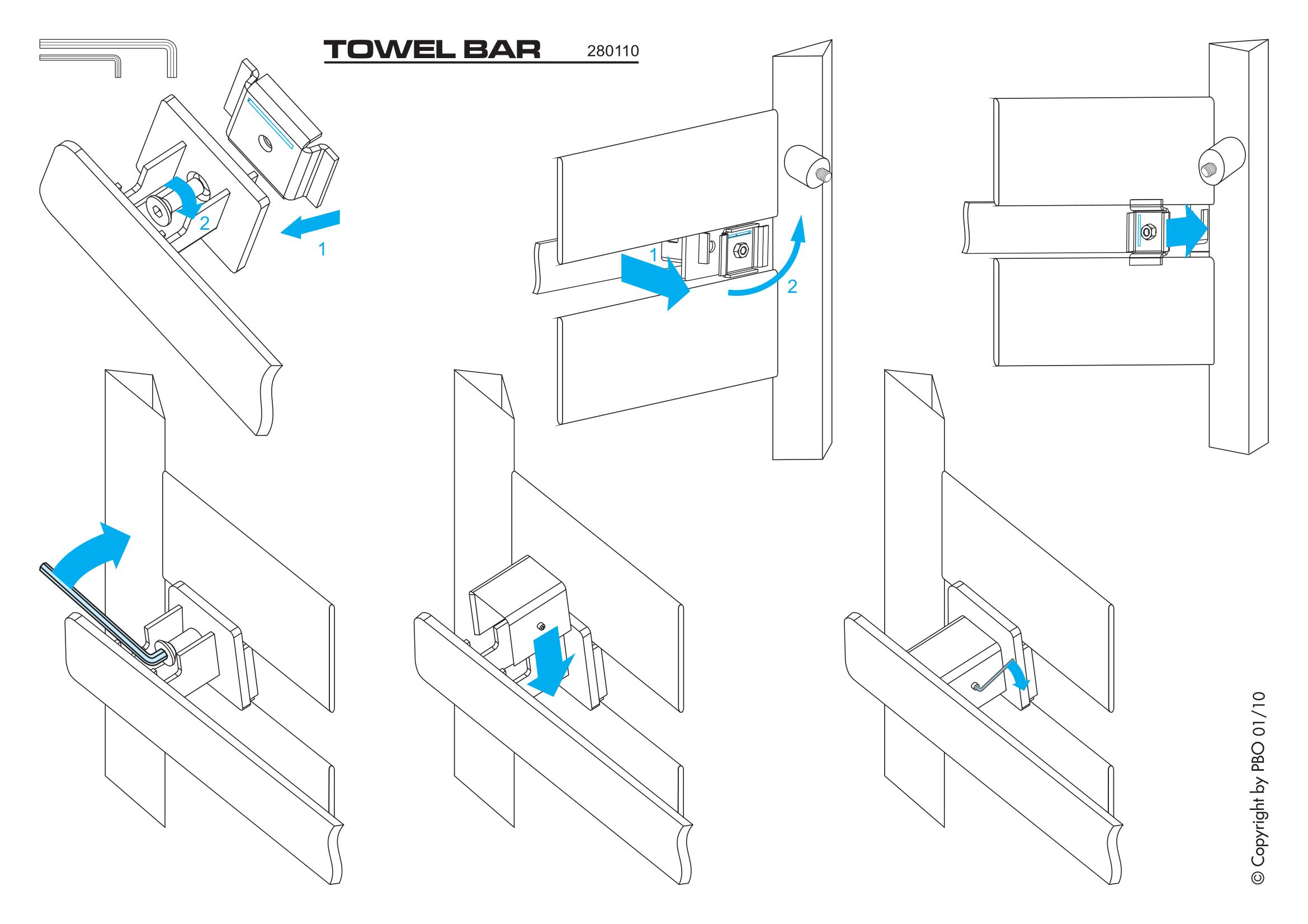 Фотография Инструкция по монтажу дизайнерского полотенцесушителя Zehnder Metropolitan Bar
