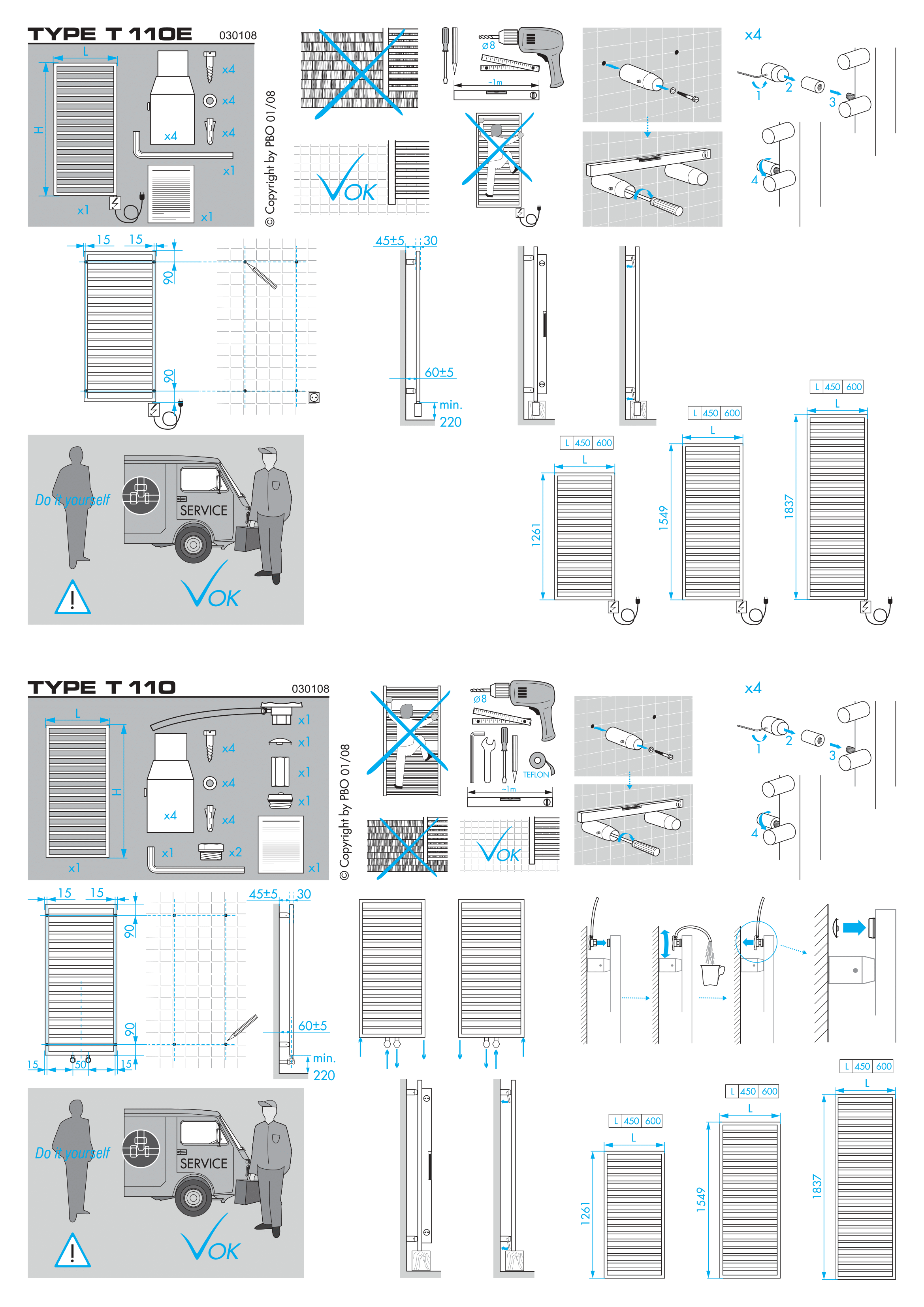 Фотография Инструкция по монтажу дизайнерского полотенцесушителя Zehnder Subway