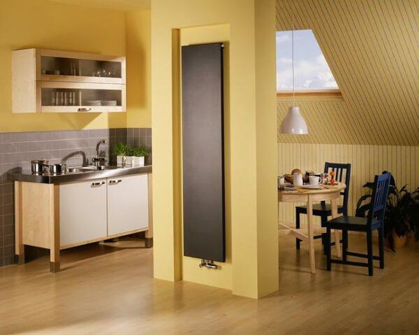Фотография Дизайнерский радиатор Zehnder Plano