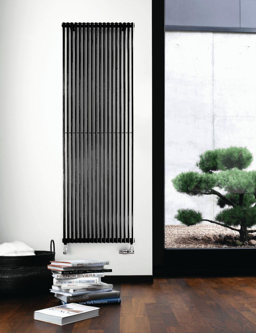 Фотография Дизайнерский радиатор Zehnder Kleo 1