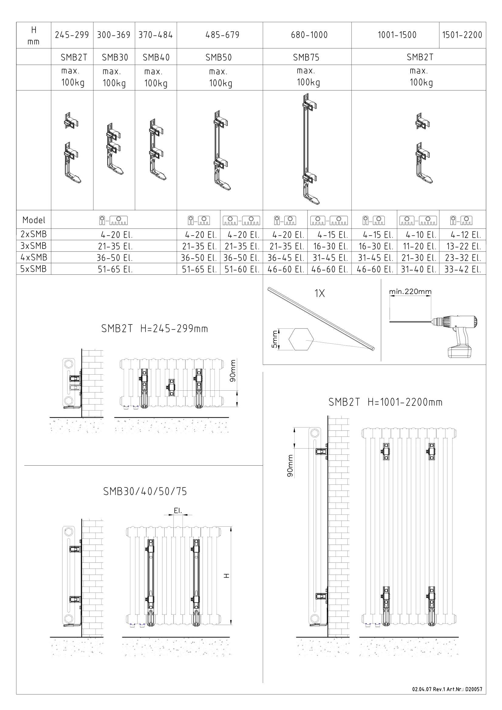 Фотография Инструкция по монтажу дизайнерского радиатора Zehnder Charleston 3