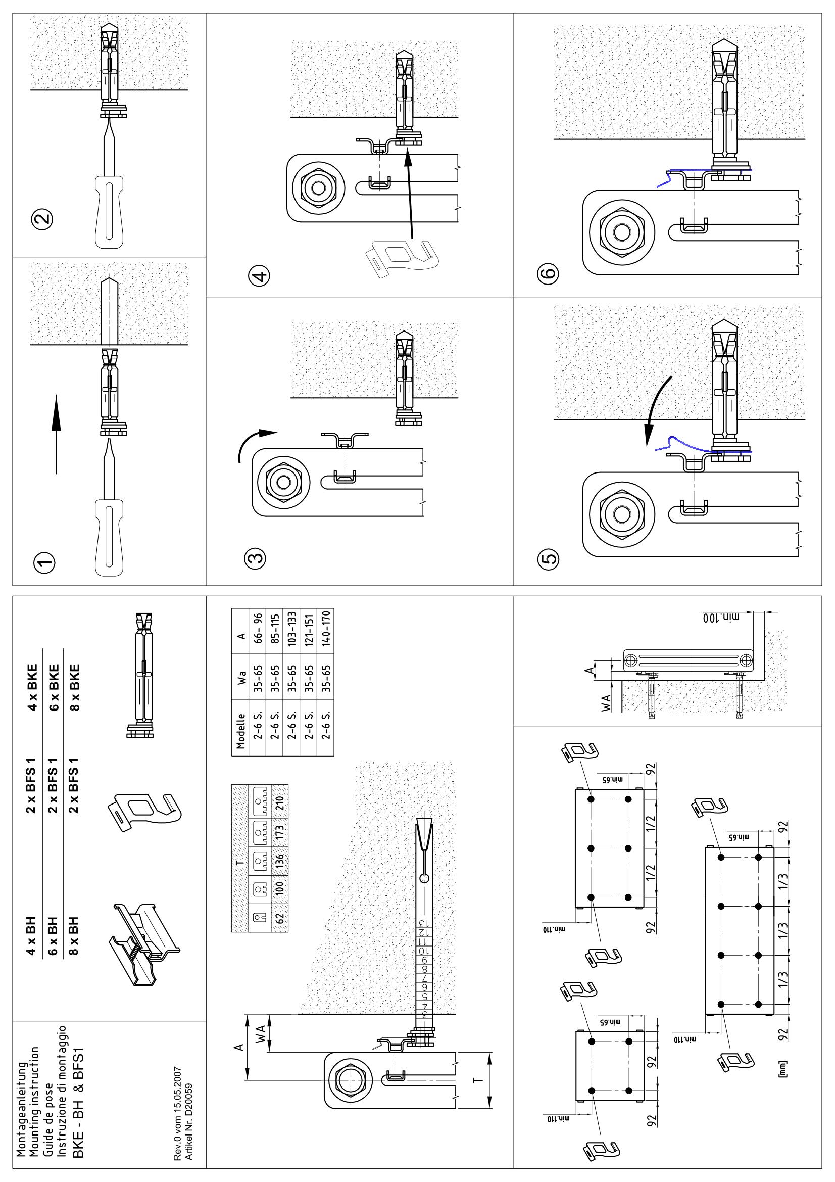 Фотография Инструкция по монтажу дизайнерского радиатора Zehnder Charleston 1