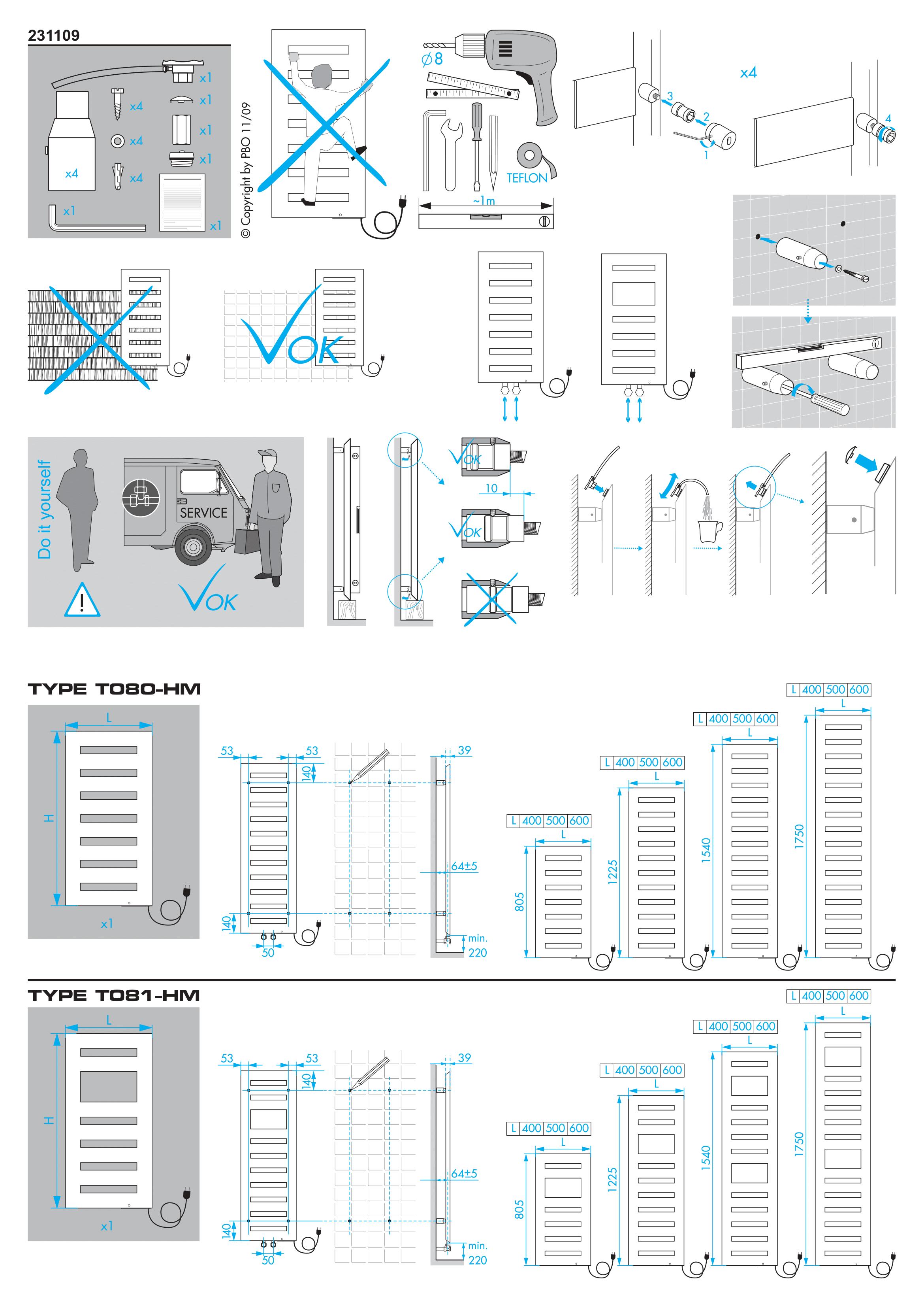Фотография Инструкция по монтажу дизайнерского полотенцесушителя Zehnder Metropolitan Spa