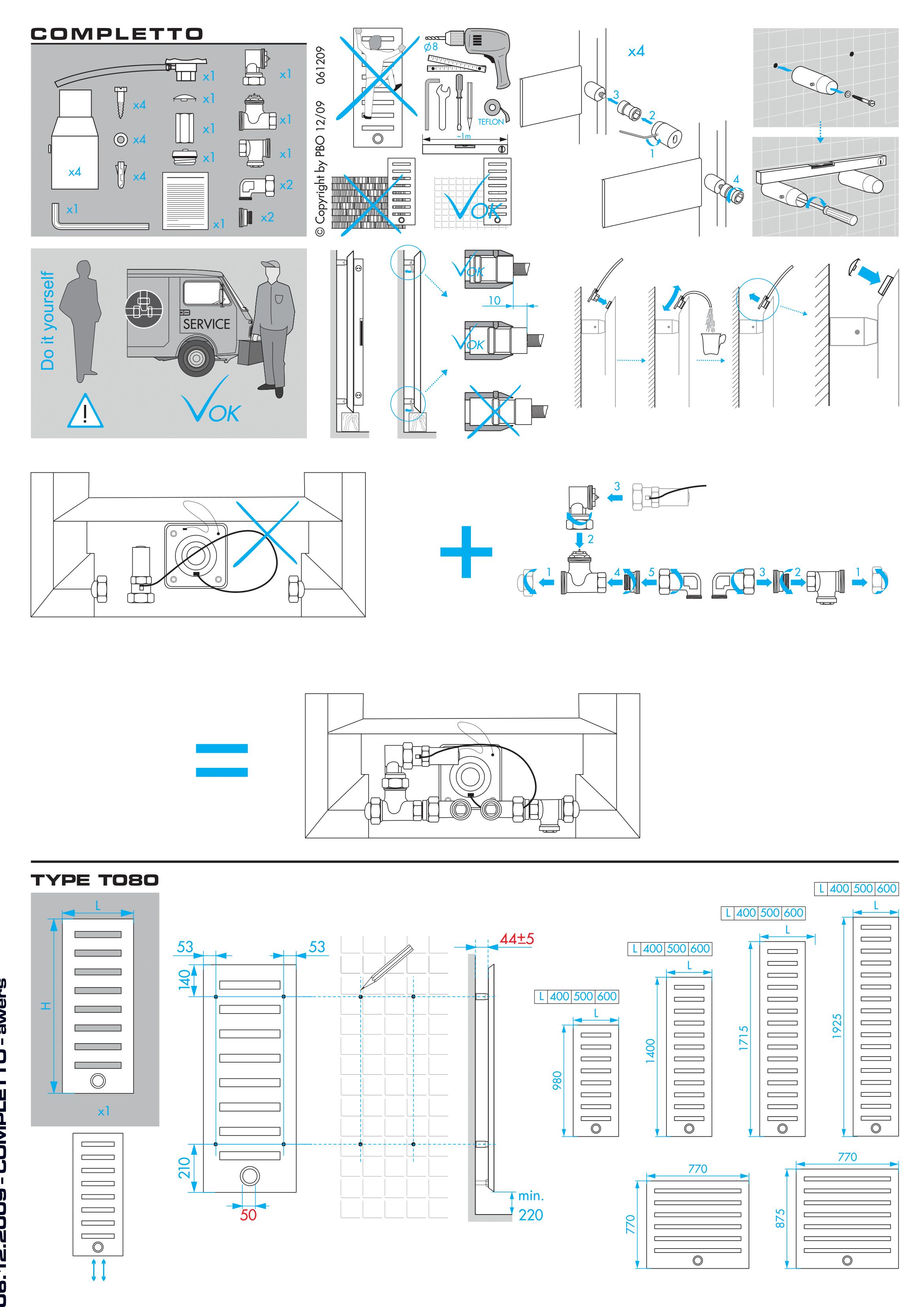 Фотография Инструкция по монтажу дизайнерского полотенцесушителя Zehnder Metropolitan Spa 1