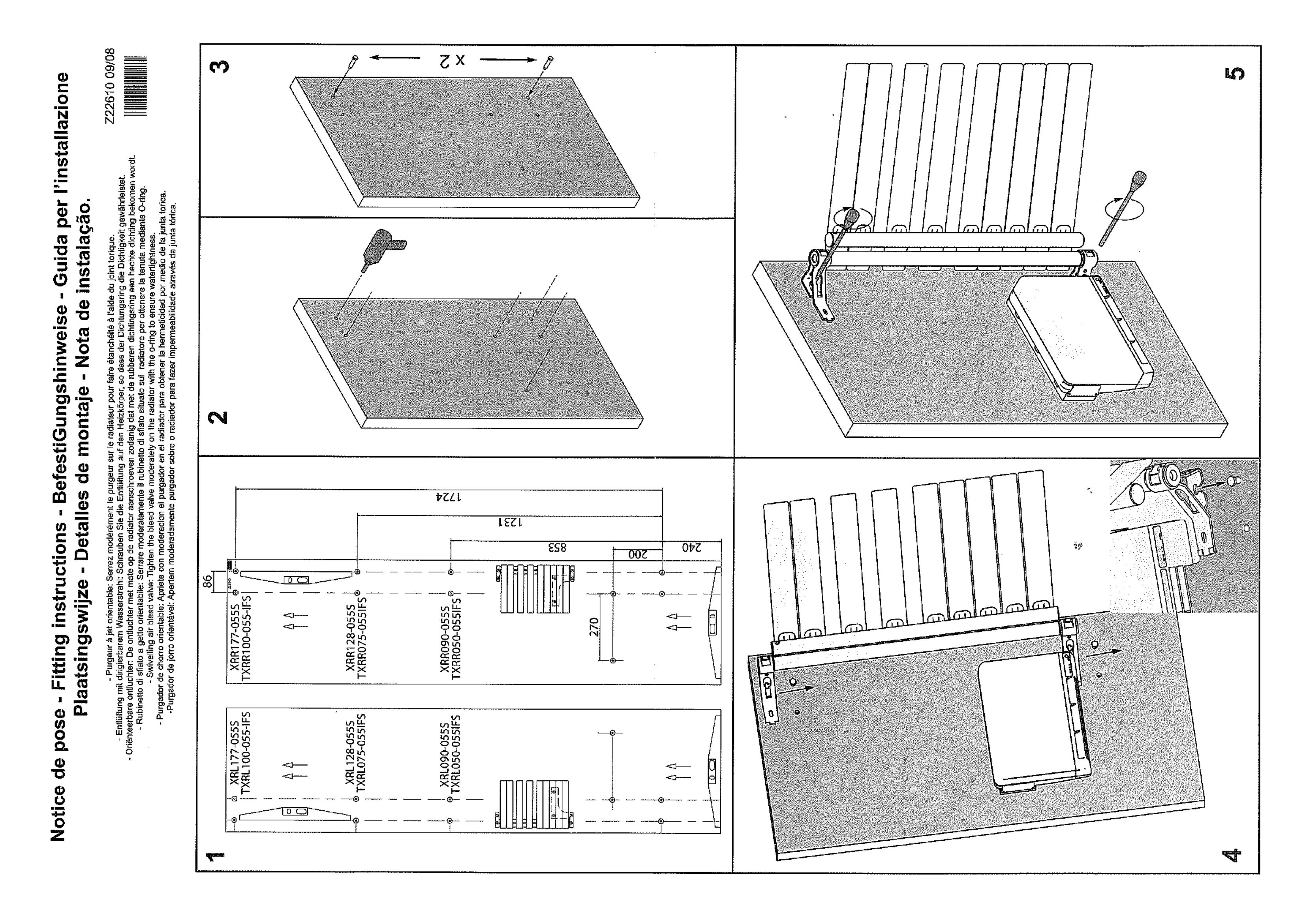 Фотография Инструкция по монтажу дизайнерского полотенцесушителя Zehnder Roda Twist Spa Air