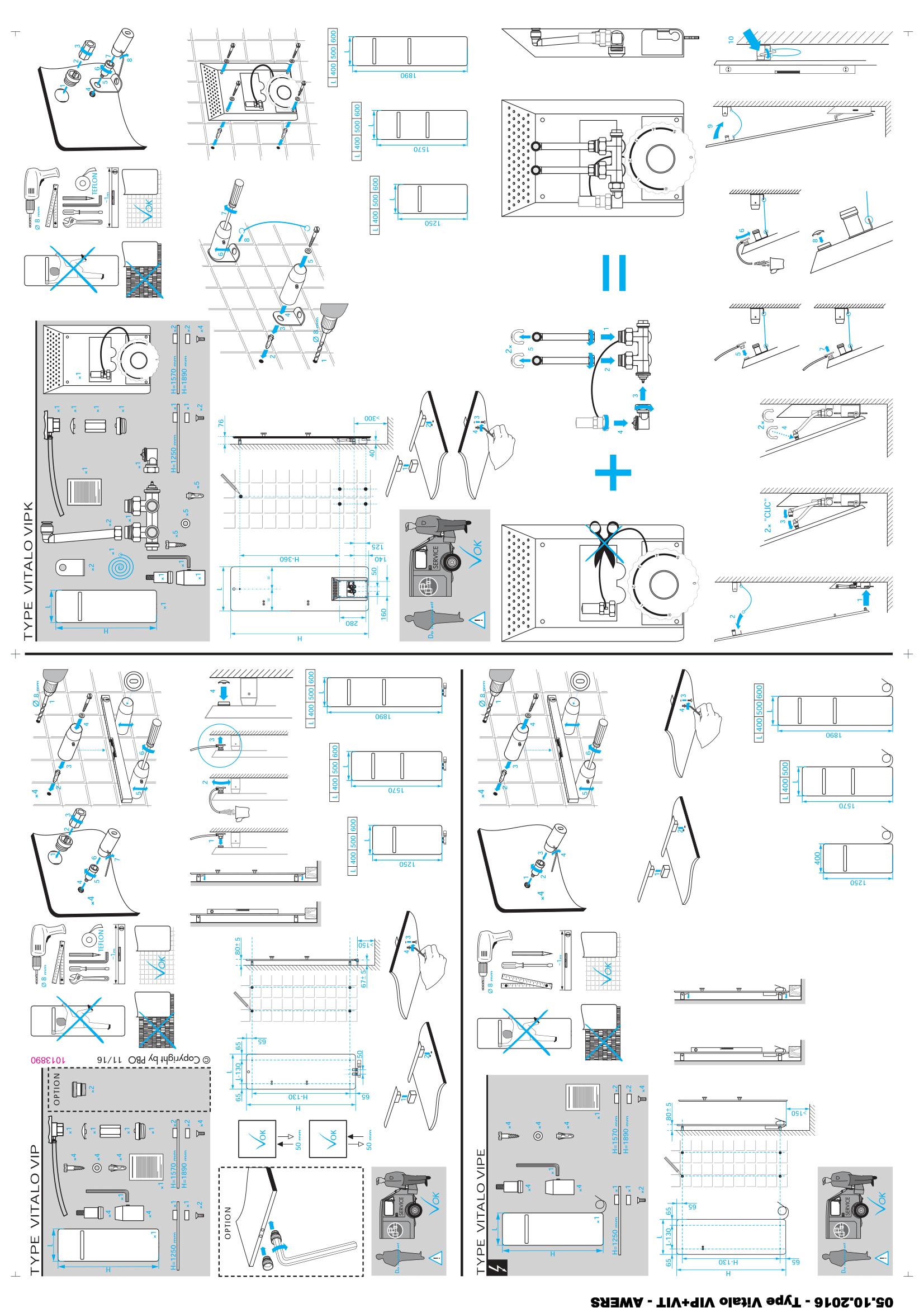Фотография Инструкция по монтажу дизайнерского полотенцесушителя Zehnder Vitalo Bar