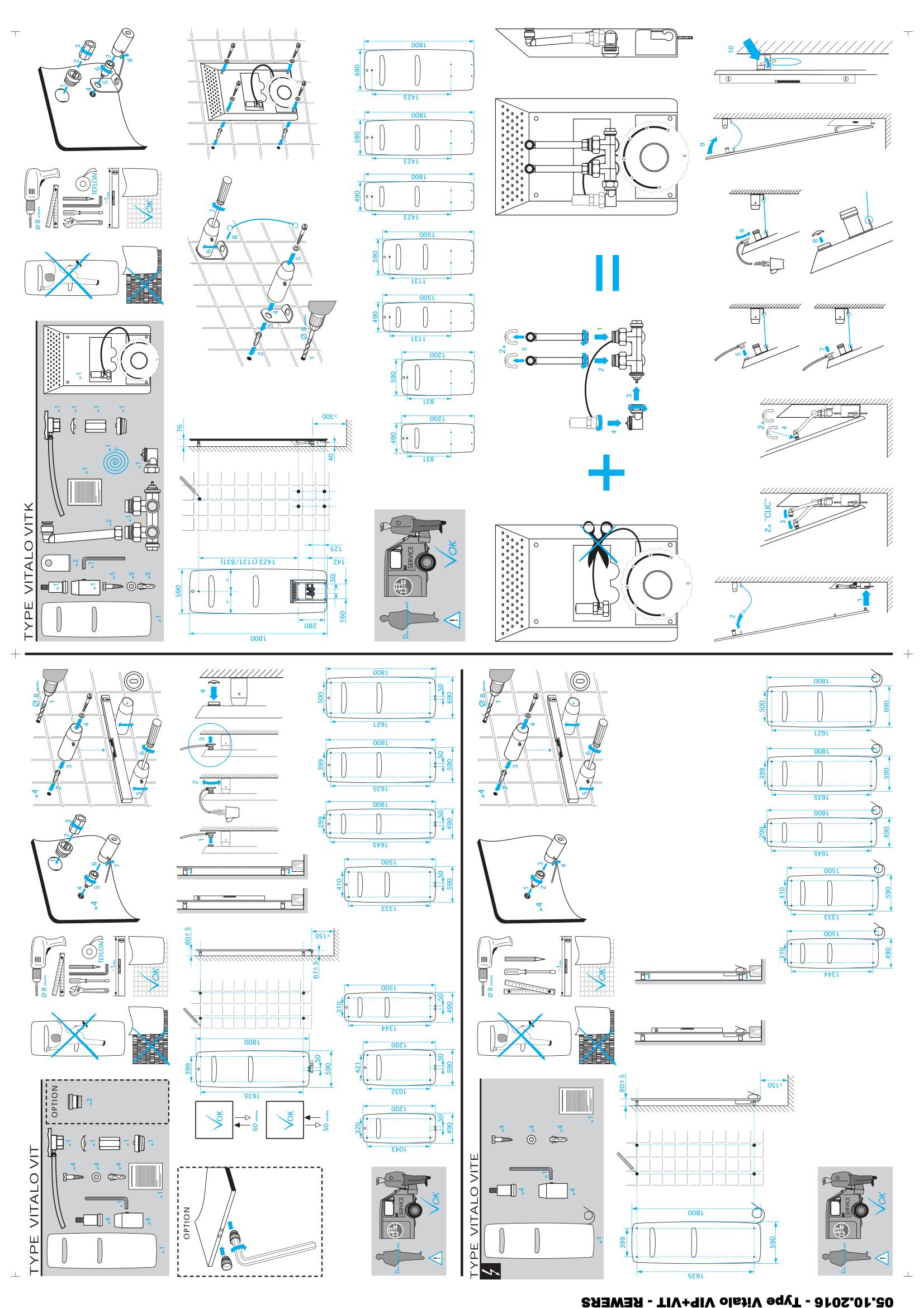 Фотография Инструкция по монтажу дизайнерского полотенцесушителя Zehnder Vitalo Spa