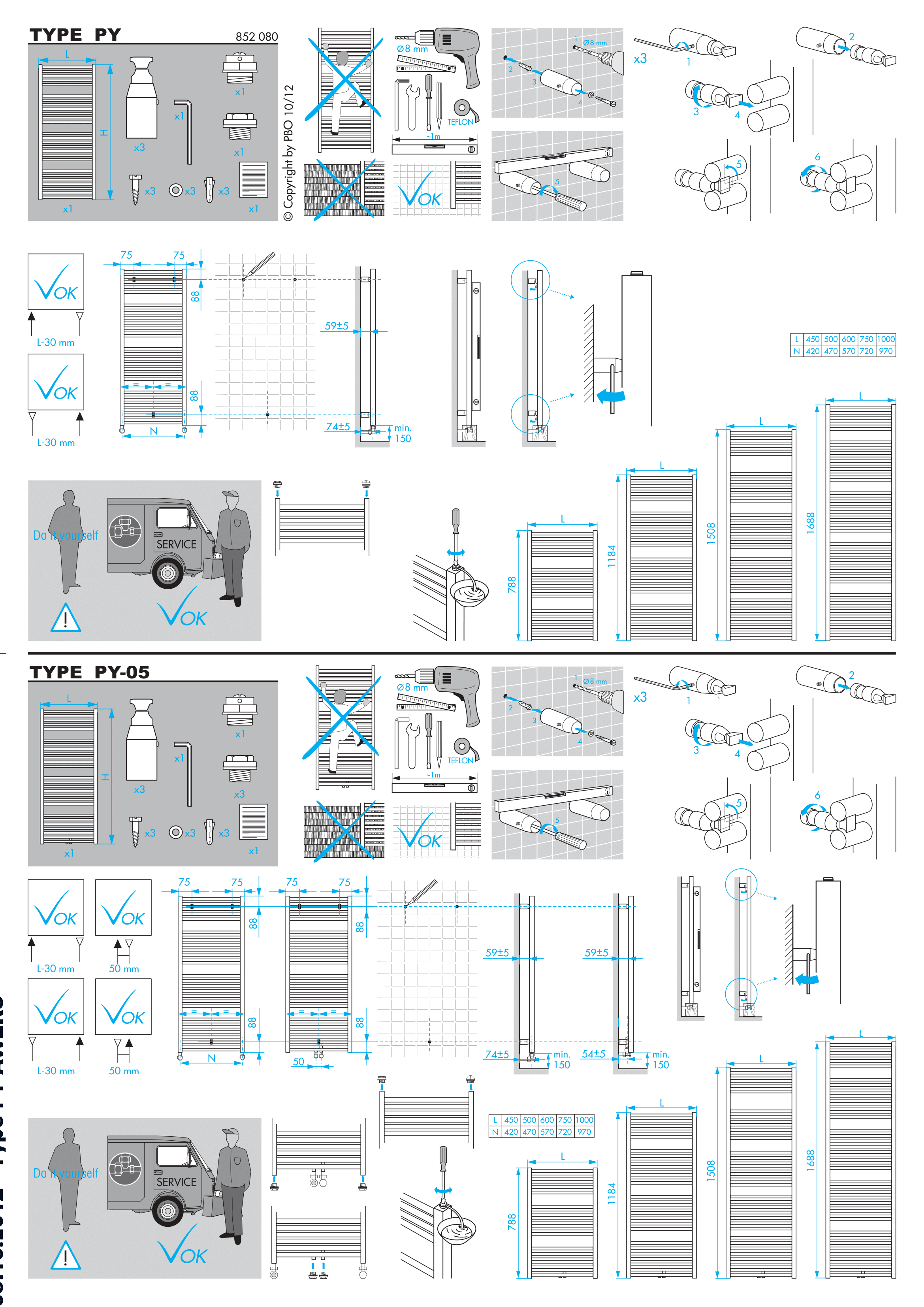Фотография Инструкция по монтажу дизайнерского полотенцесушителя Zehnder Zeno