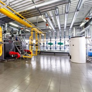 Фотографія Система опалення промислового об'єкта