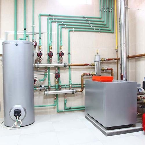 Фотография Тепловой насос для системы отопления дома