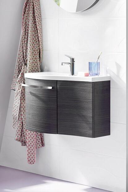 Фотография Мебель для ванной в стиле постмодернизма