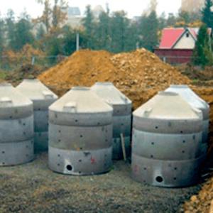 Фотография Системы очистки канализационных стоков