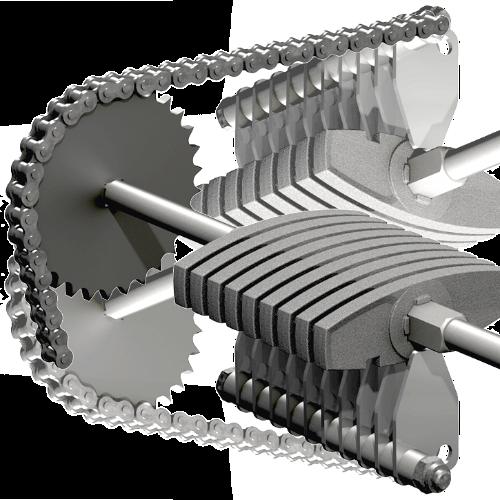 Фотография Твердотопливный котел на пеллетах и дровах ETA TWIN от 20 до 50 кВт механизм