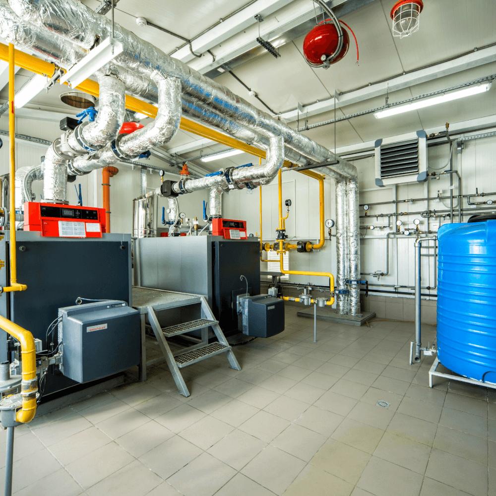 Фотография Котельная на базе котлов Viessmann для завода «Baumit» 1