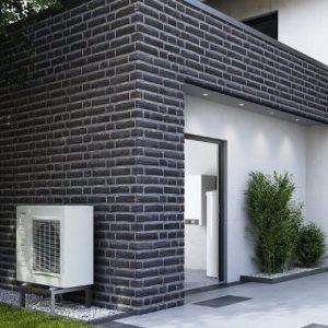 Фотография Воздушный тепловой насос для отопления дома