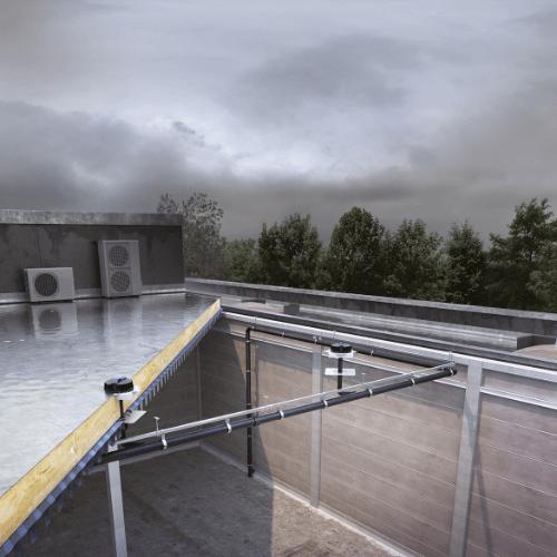 Фотография Вакуумные водостоки ливневой канализации