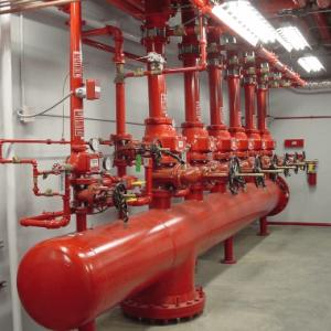 Фотография Внутренняя инженерная система противопожарного водопровода