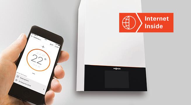 Встроенный Wi-Fi интерфейс: Комфортное отопление становится цифровым