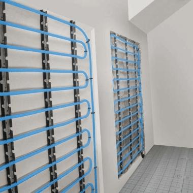 Фотография Установка теплых стен в частном доме или квартире