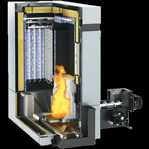 Продукт в разрезе   Vitoligno 300-H, 80 - 101 кВт
