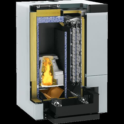 Продукт в разрезе   Vitoligno 300-H, 50 - 60 кВт