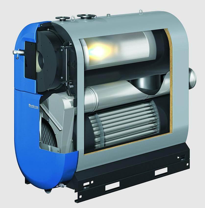 Напольный газовый конденсационный котел мощностью 800-1200кВт