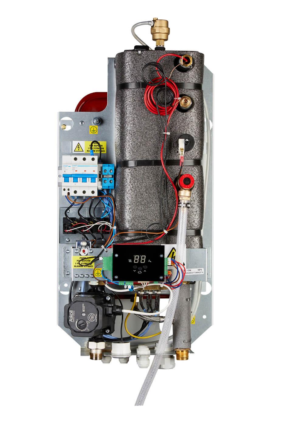Настенные электрические отопительные котлы до 24 кВт