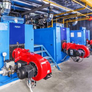 Фотография Пример монтажа систем газоснабжения