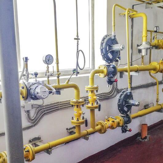 Фотография Проект газоснабжения для промышленности