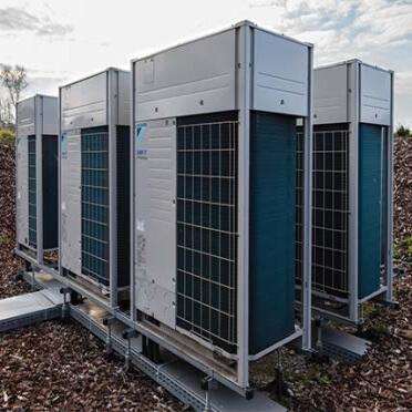 Фотография мультизональных (2, 3-х трубные) системы, приточно-вытяжные установки с рекуперацией воздуха в особняке 4000 м2, Крым