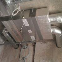 Фотография оборудования для кондиционирования, вентиляции, увлажнения воздуха для помещений бассейна для особняка 2000 м2 в Конча-Заспе