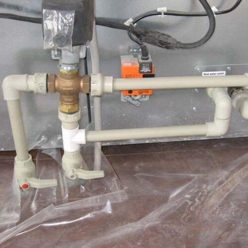Фотография оборудования для кондиционирования, вентиляции, увлажнения воздуха, климатических систем для бассейна № 1
