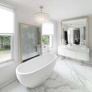 Фотография Ванная комната для особняка площадью 2500 м2 в Киеве