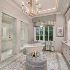 Фотография Ванная комната для особняка площадью 2500 м2 в Киеве 1