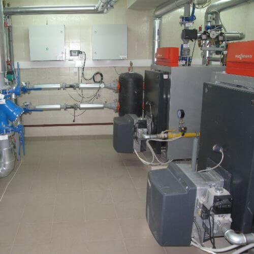 Фотография Газовая котельная на базе котлов Viessmann для Особняка площадью 1200 м2, с. Плюты