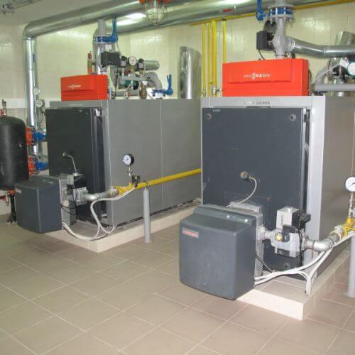 Фотография Газовая котельная на базе котлов Viessmann для Особняка площадью 1200 м2, с. Плюты 2