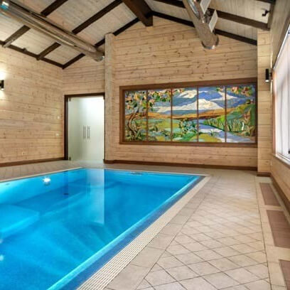 Фотография Бассейн в особняке площадью 1200 м2 в Одесской обл. 1