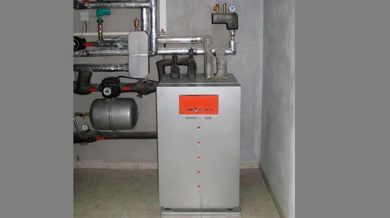 Отопление частного дома геотермальным тепловым насосом 6,1 кВт