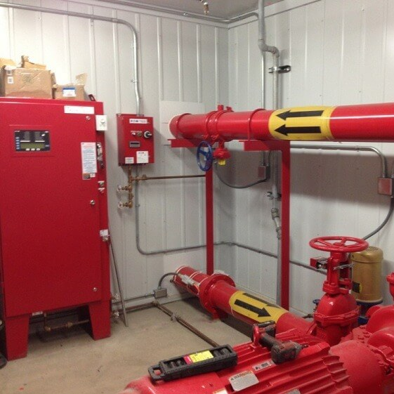 Фотография Система противопожарного водоснабжения от компании «Унитех Бау» 2