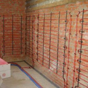 Фотография Система отопления теплые стены