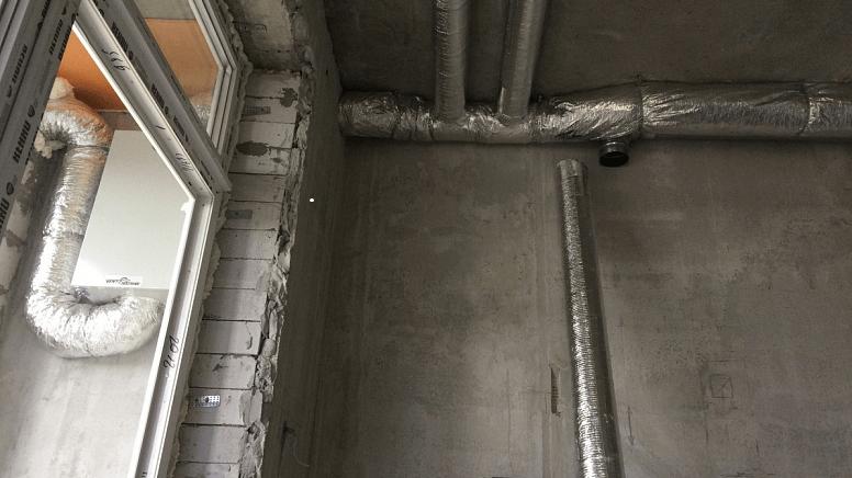 Припливно-витяжна канальна установка для квартири 100м2