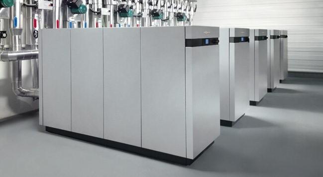 Vitocal 300-G Pro - тепловой насос большой мощности для больших жилых массивов, промышленности, коммунального хозяйства