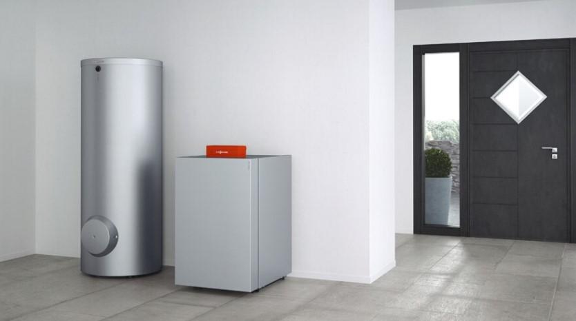 Рассольно-водяной тепловой насос VITOCAL 350-G с тепловой мощностью: 7,5 - 84,6 кВт