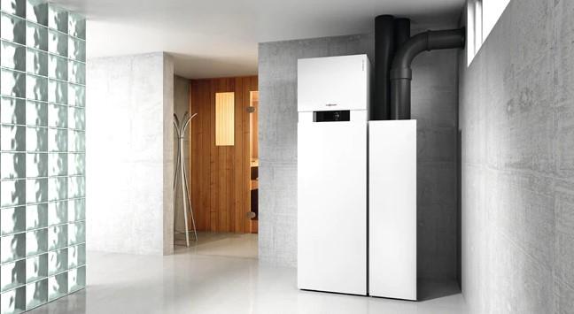 Тепловой насос воздух / вода Vitocal 222-S, сплит-система