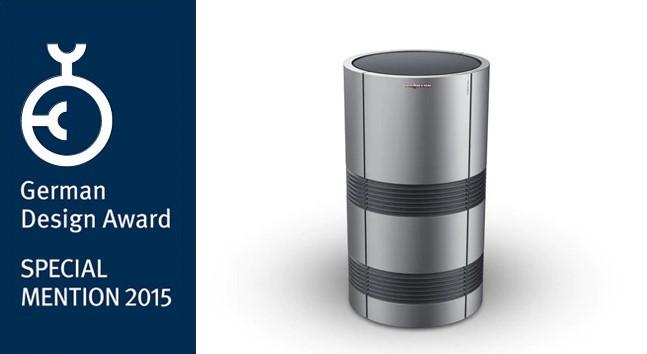 2015   German Design Award SPECIAL MENTION («Специальная награда»)