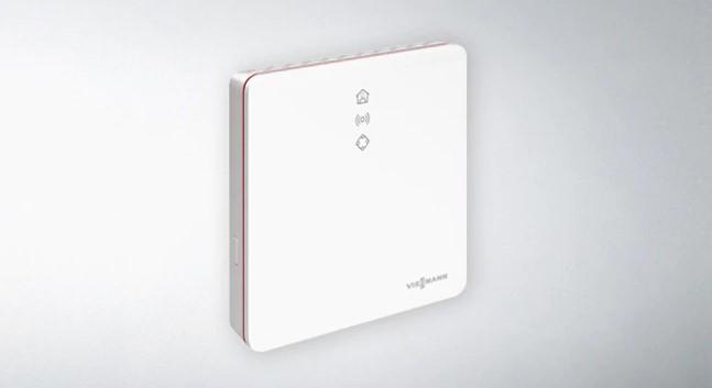 Vitoconnect 100 подсоединяет к сети